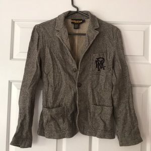 Exclusive Rugby Ralph Lauren Grey Blazer